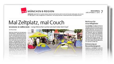 Münchenseite ver.di-Publik 07-2017