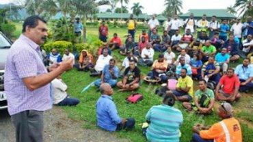 Fidschi: KollegInnen ausgesperrt
