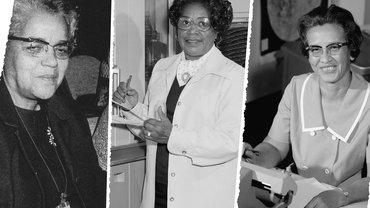 Foto: Dorothy Vaughan, Katharine Johnson, Mary Jackson