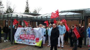 Tarifverhandlungen Entlastung SRH Klinikum Karlsbad-Langensteinbach