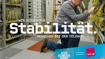 Plakat Tarifrunde Telekom