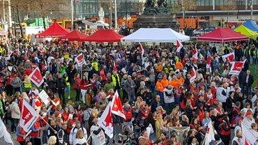 Kundgebung in Mannheim