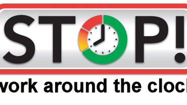 Stop work around the clock