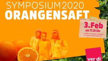 Symposium 2020: Orangensaft