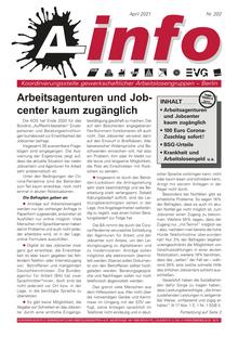 A-Info #202, April 2021, Titelseite